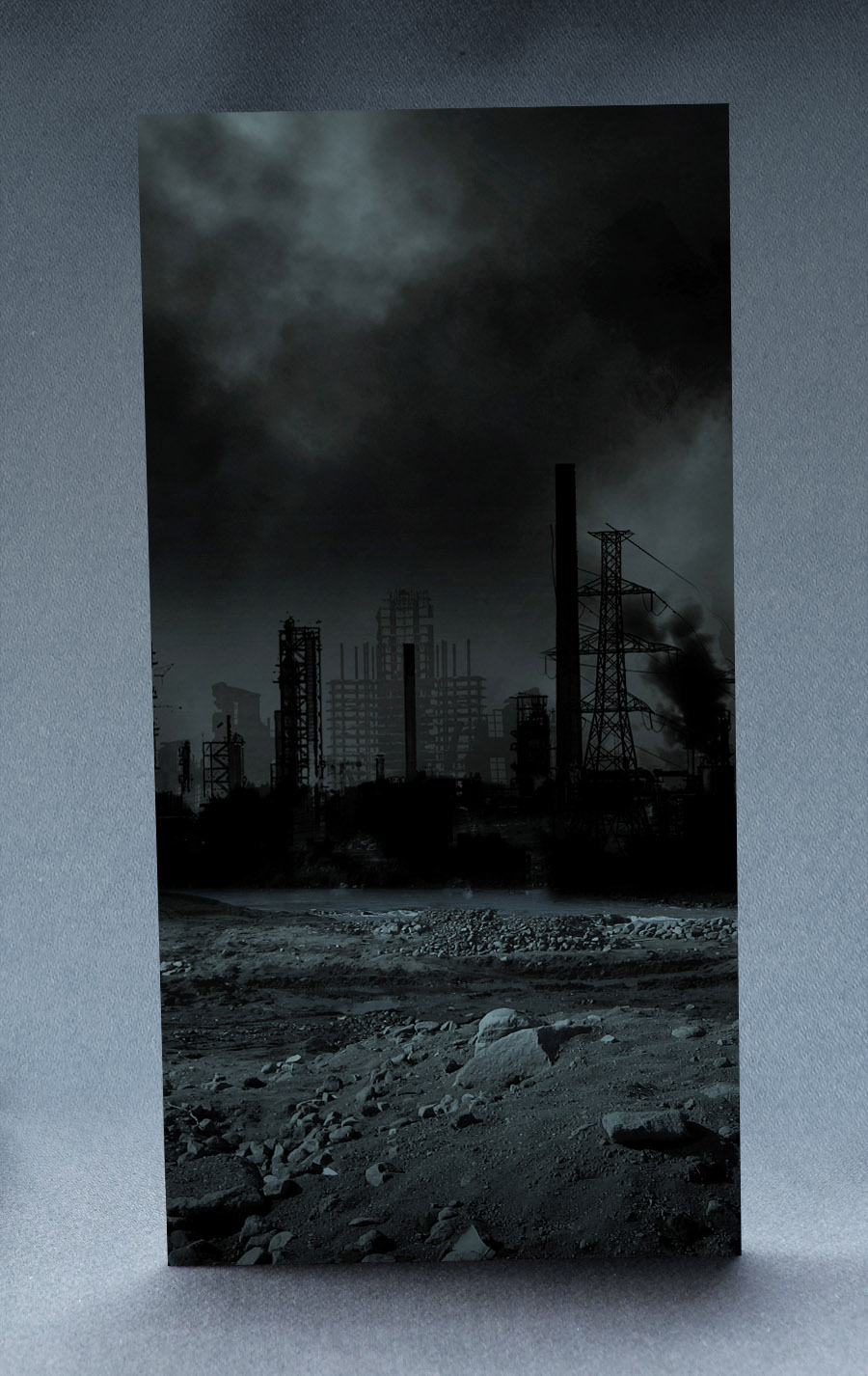 Desolate City 1:6 Scale Striking Backdrop