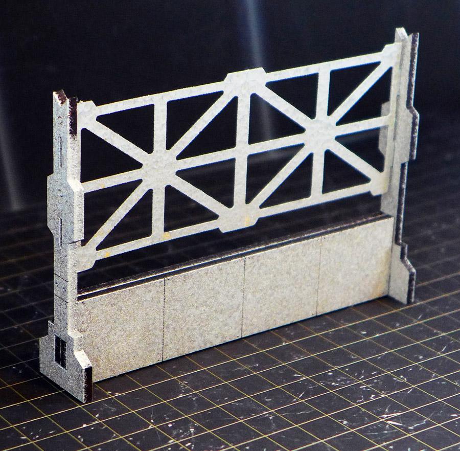 Sci-Fi Fence Barricade
