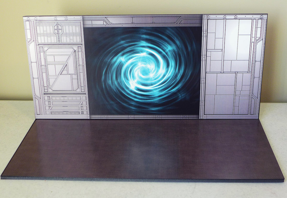 Exclusive Backdrop: Swirling Portal (with optional back stand)