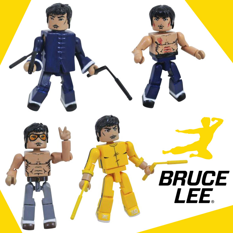 Bruce Lee Minimates Box Set