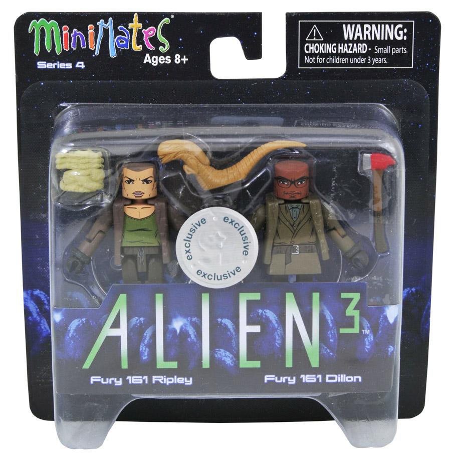 Fury 161 Ripley & Dillon Alien 3 Minimates