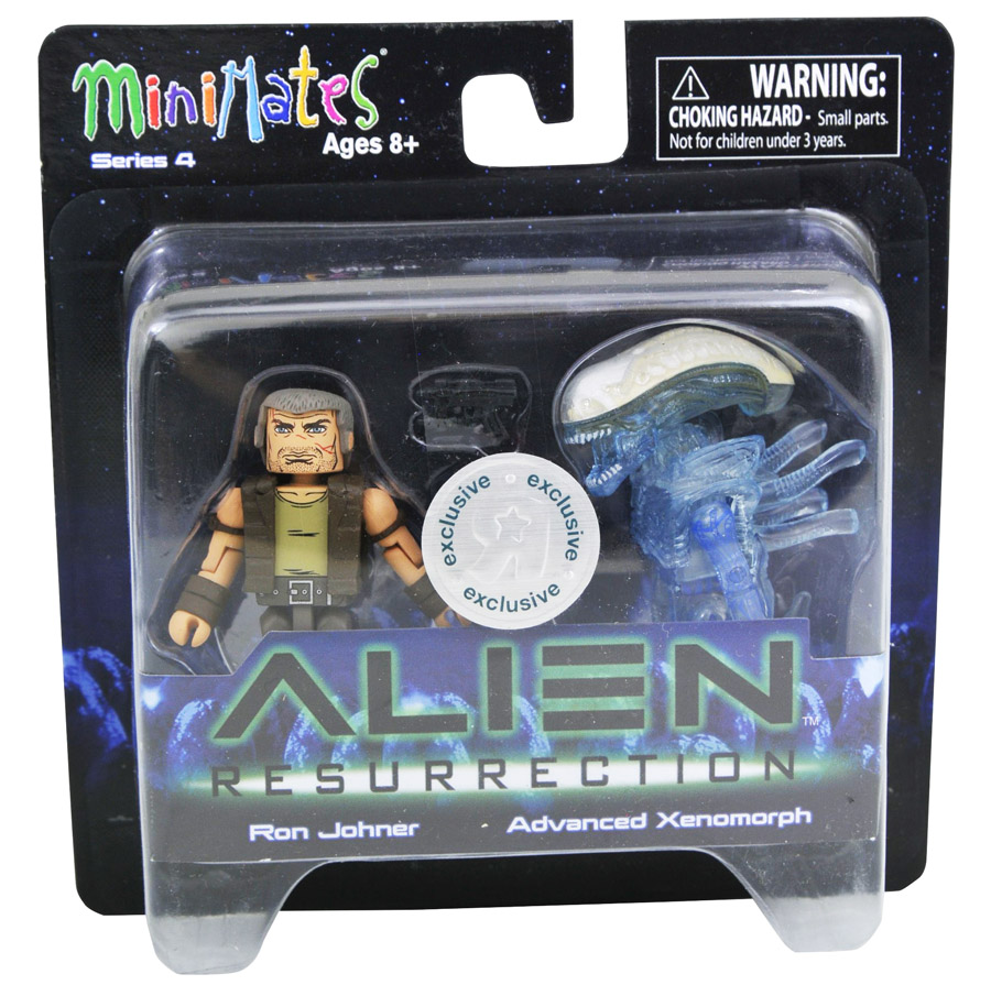 Ron Johner & Advanced Xenomorph Alien Resurrection Minimates