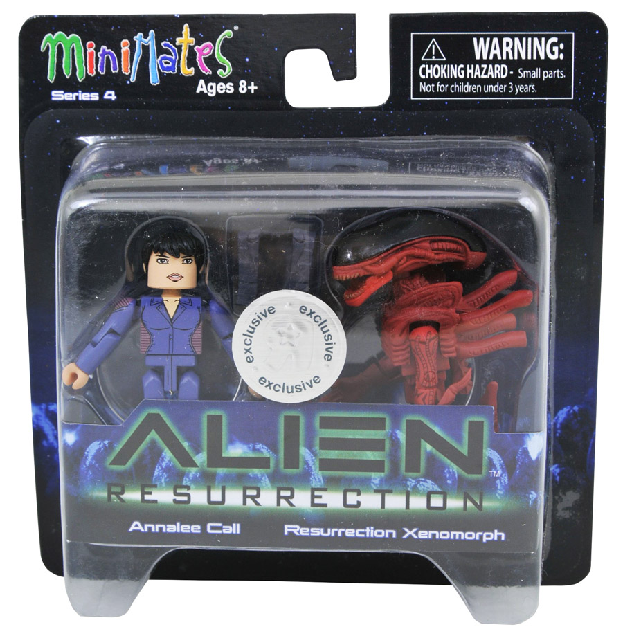 Annalee Call & Resurrection Xenomorph Alien Resurrection Minimates