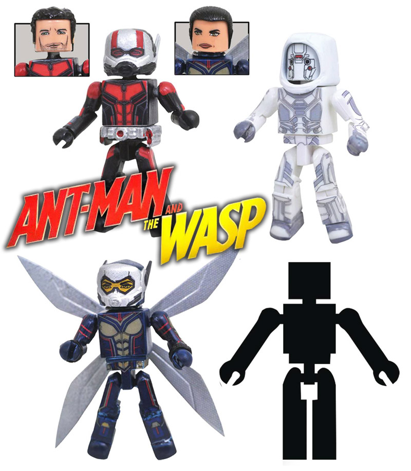Ant-Man & The Wasp Movie Minimates Box Set