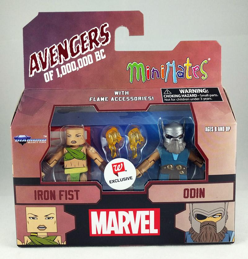 Iron Fist & Odin Avengers 1,000,000 BC Walgreens Minimates