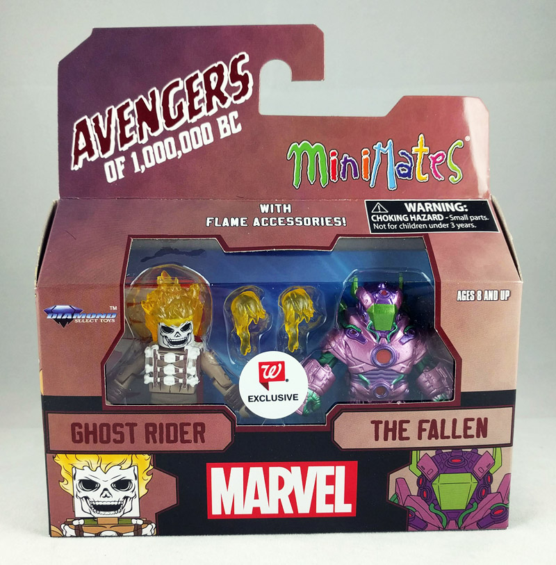 Ghost Rider & The Fallen Avengers 1,000,000 BC Walgreens Minimates