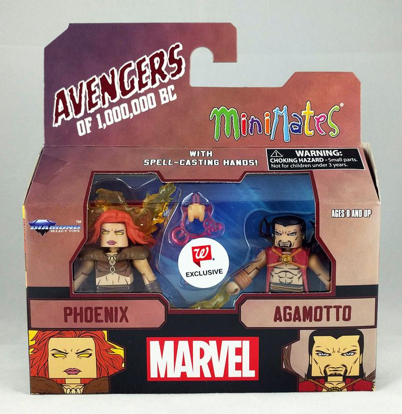 Phoenix & Agamotto Avengers 1,000,000 BC Walgreens Minimates