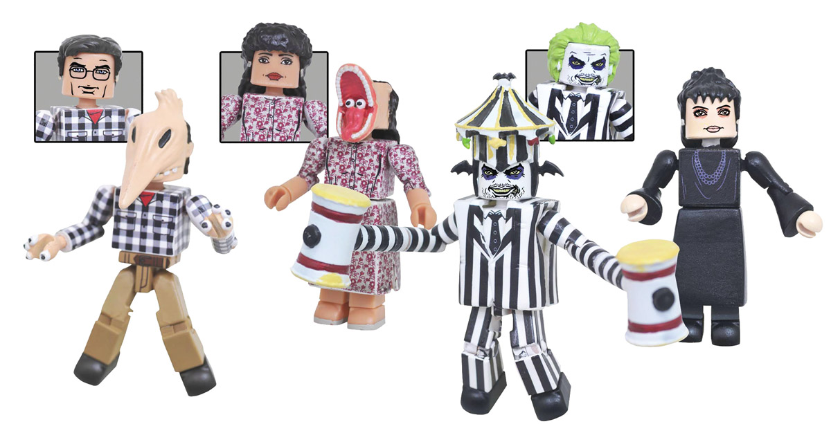 Beetlejuice Minimates Series 1 Box Set