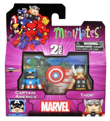 Best of Marvel Minimates: Captain America & Thor