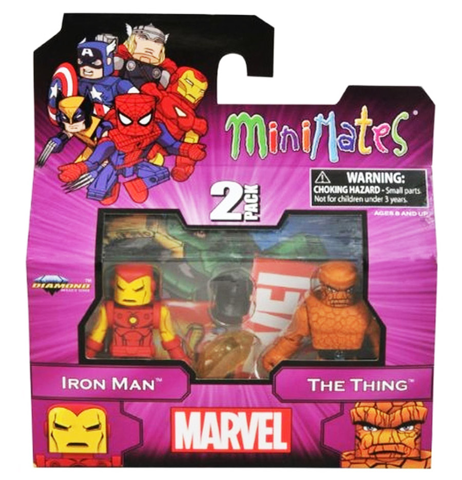 Best of Marvel Minimates: Iron Man & The Thing
