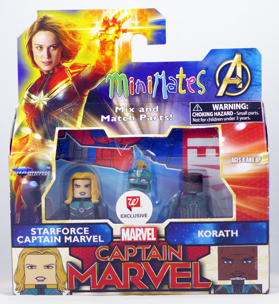 Starforce Captain Marvel & Korath Walgreen's Exclusive Marvel Minimates