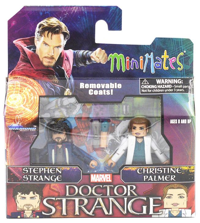 Stephen Strange & Christine Palmer Marvel Minimates