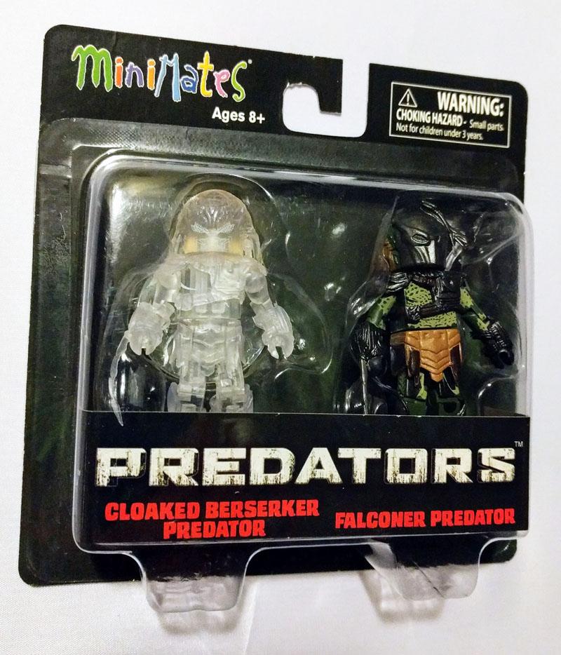TRU Exclusive Cloaked Berserker Predator & Falconer Predator Minimates