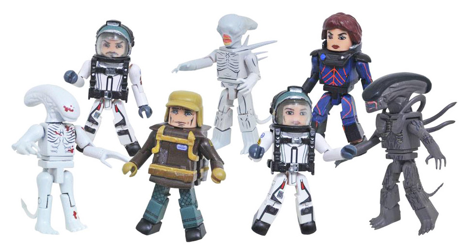 Alien Covenant Minimates Full Custom Case of 12