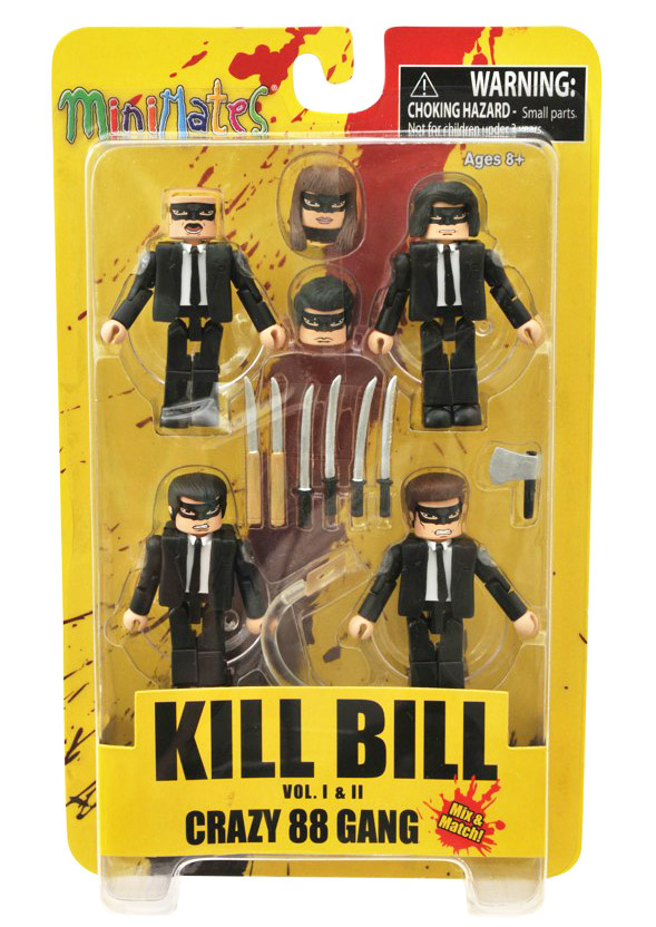 Crazy 88 Kill Bill Minimates Box Set