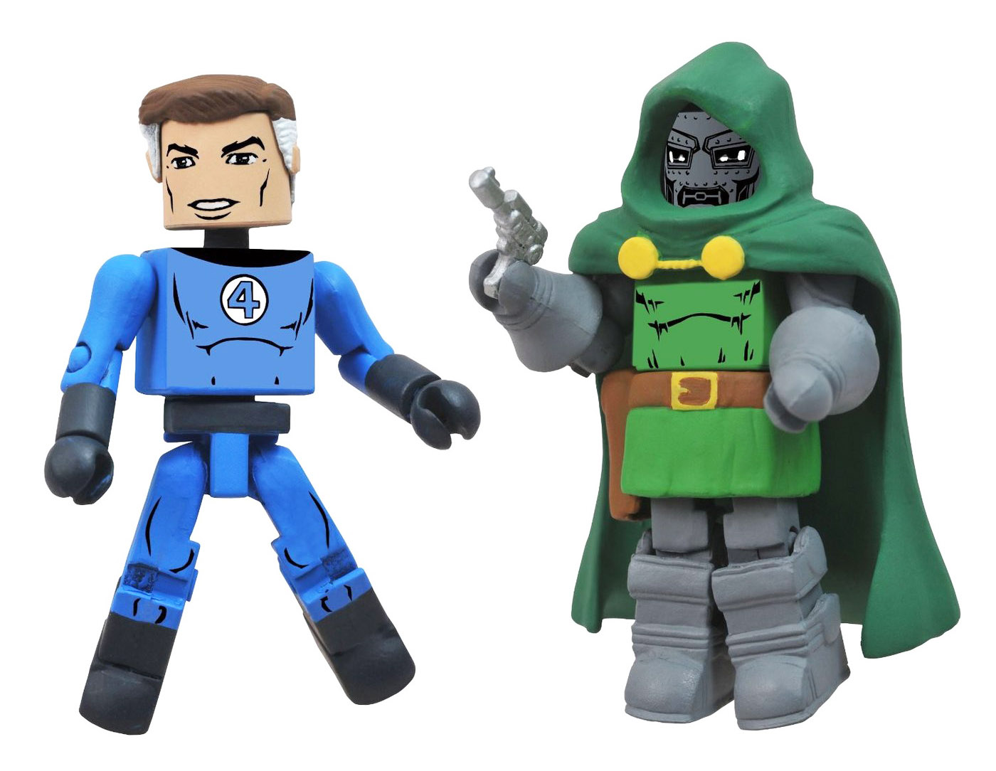 Mr. Fantastic & Dr. Doom Best of Marvel Minimates
