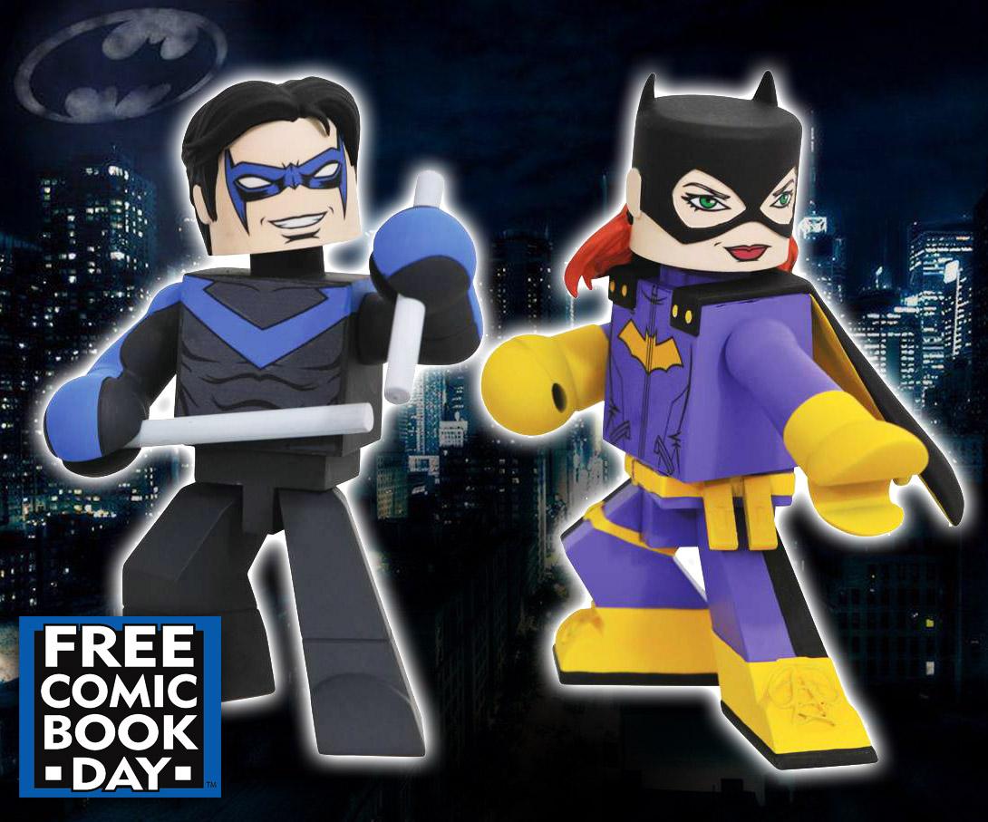 Nightwing & Batgirl DC Comics FCBD Vinimate Vinyl Figure 2-Pack