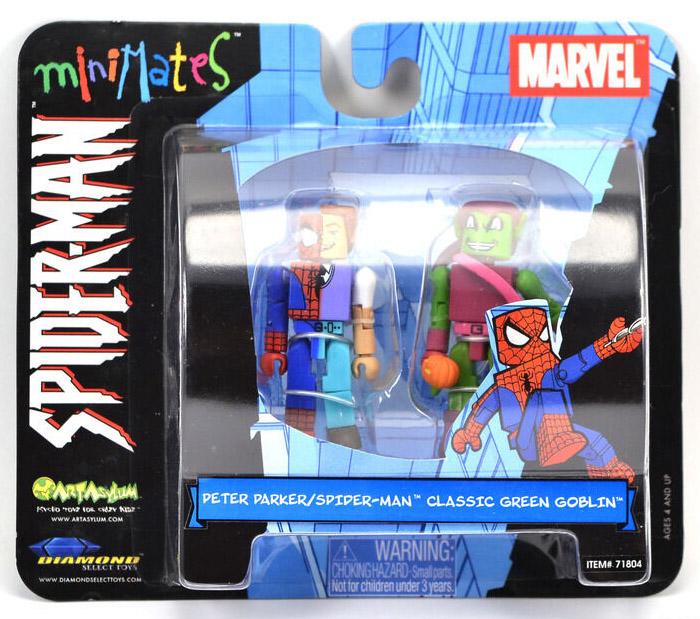 Peter Parker/Spider-Man & Classic Green Goblin Minimates