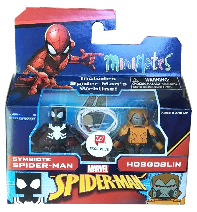 Symbiote Spider-Man & Hobgoblin Walgreen's Exclusive Marvel Minimates