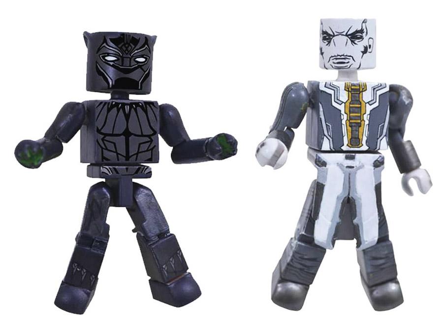 Black Panther & Ebony Maw Infinity War Minimates