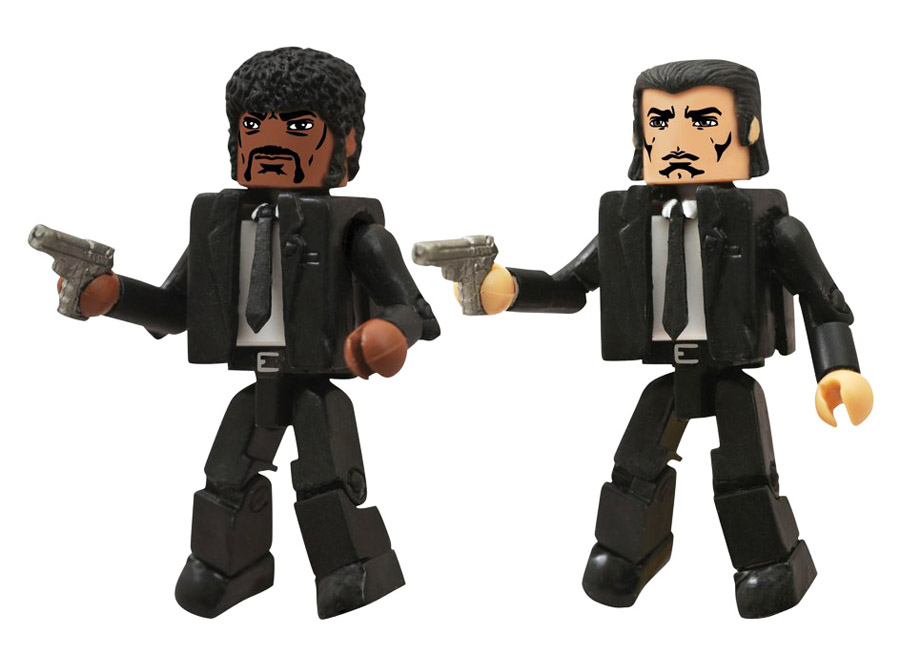 Pulp Fiction Jules & Vincent Minimates
