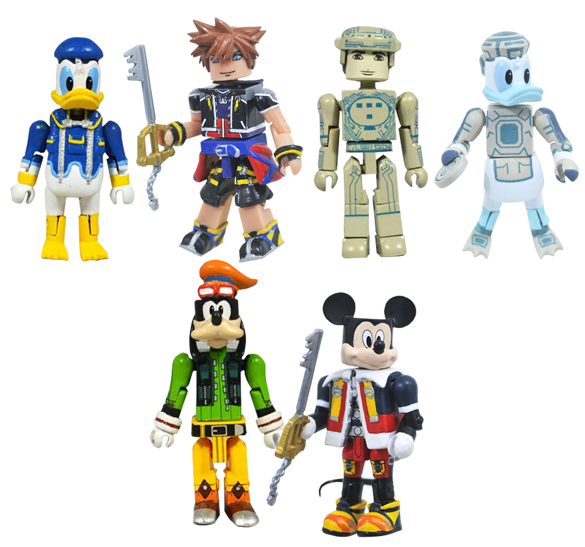 Kingdom Hearts Minimates Series 1 Full Custom Case of 12