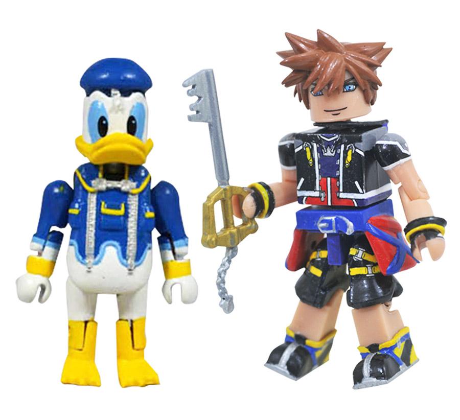 Sora & Donald Kingdom Hearts Minimates