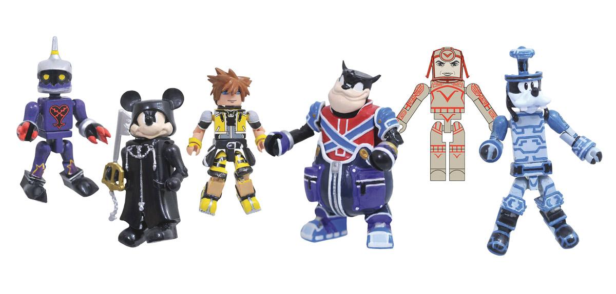 Kingdom Hearts Minimates Series 2 Full Custom Case of 12