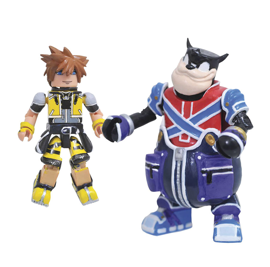 Master Form Sora & Pete Kingdom Hearts Minimates