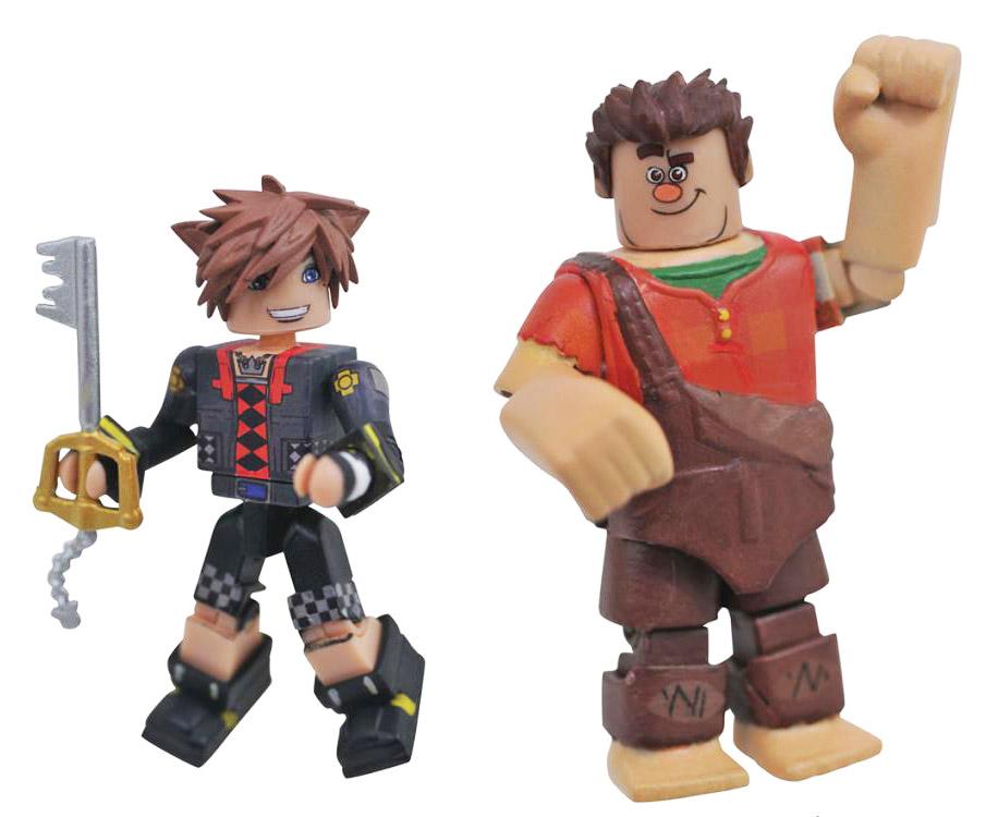 Toy Story Sora & Wreck it Ralph Kingdom Hearts Minimates