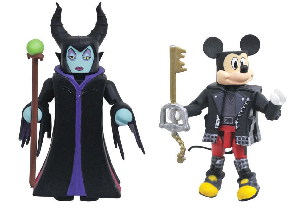 Maleficent & Mickey Mouse Kingdom Hearts Minimates