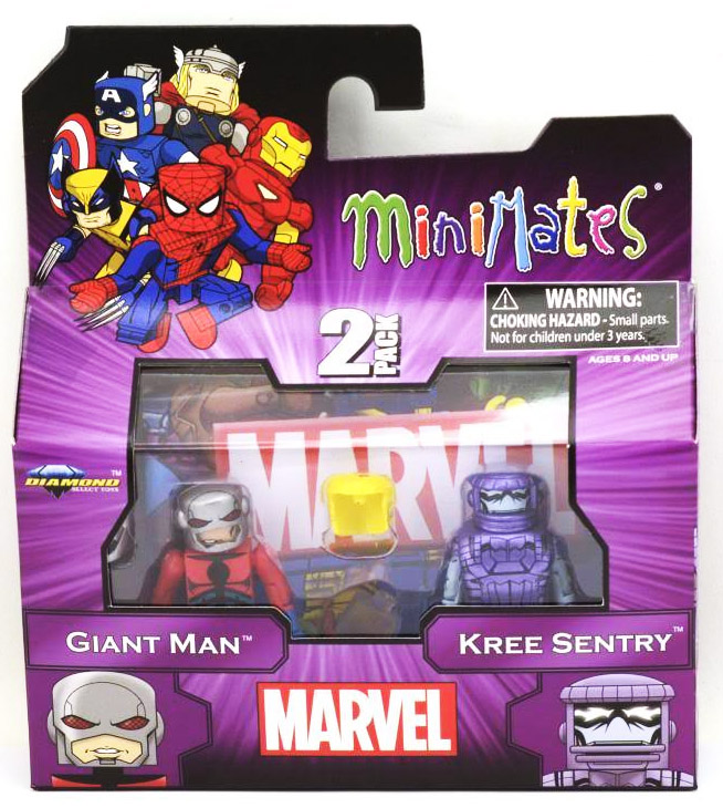 Giant Man & Kree Sentry Marvel Minimates