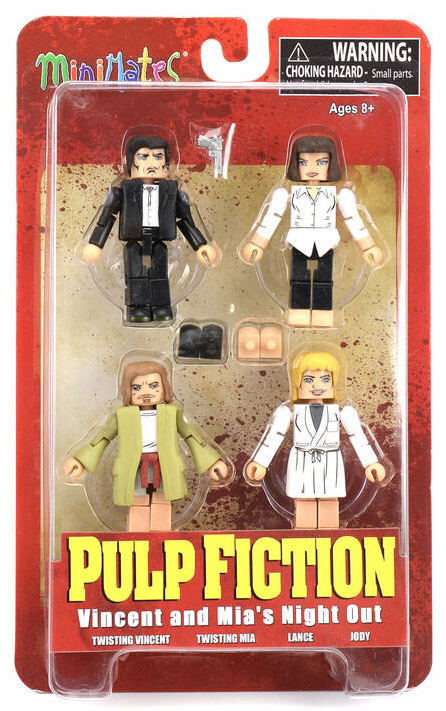 Mia's Night Out Pulp Fiction Minimates