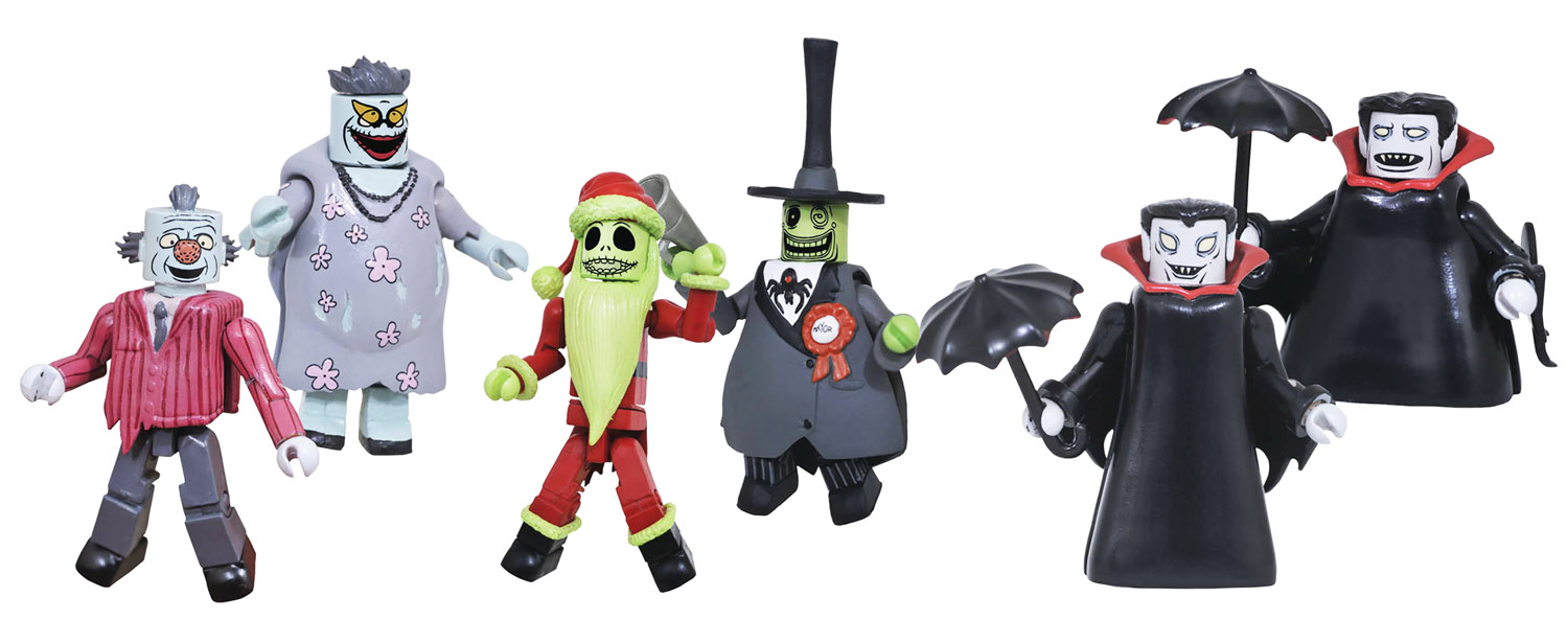 Nightmare Before Christmas Minimates Series 5 Full Set of 6