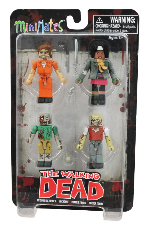 Walking Dead Prison Outbreak Minimates 4-Pack