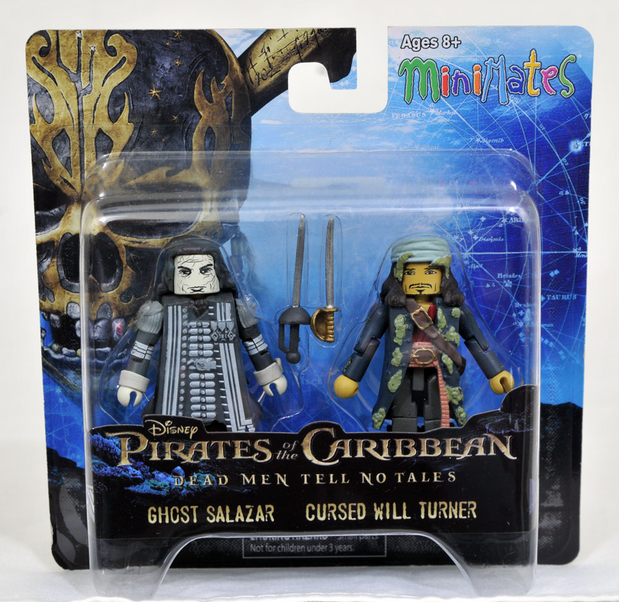 Salazar's Ghost & Cursed Will Turner Minimates