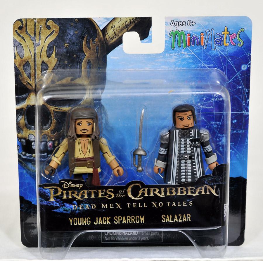 Captain Salazar & Young Jack Sparrow Minimates