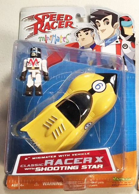 Speed Racer: Classic Racer X Minimate with Shooting Star