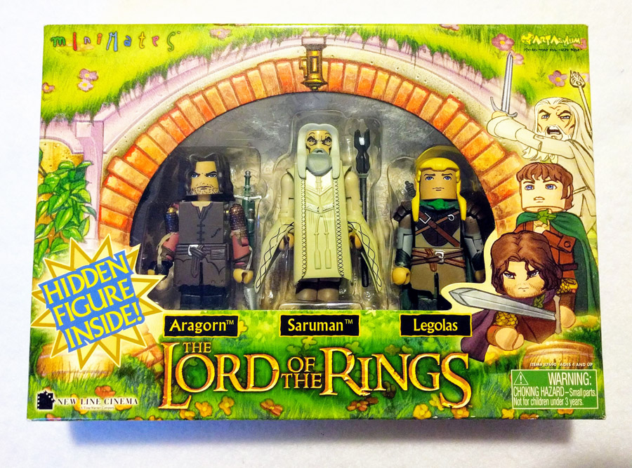 Lord of the Rings Minimates 4-Pack 2004 TRU Exclusive Box Set