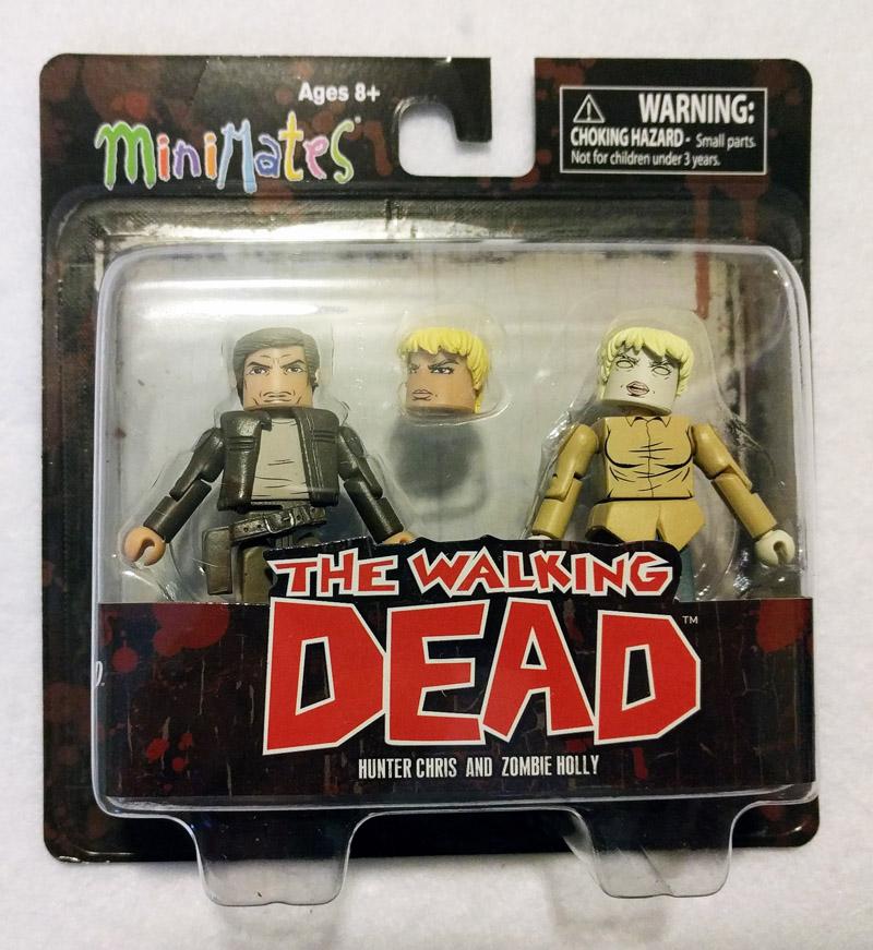 Hunter Chris & Zombie Holly Walking Dead Minimates