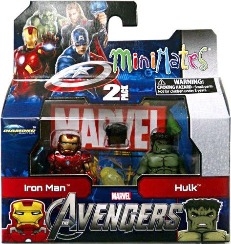 Iron Man & Hulk Marvel Minimates Series 45