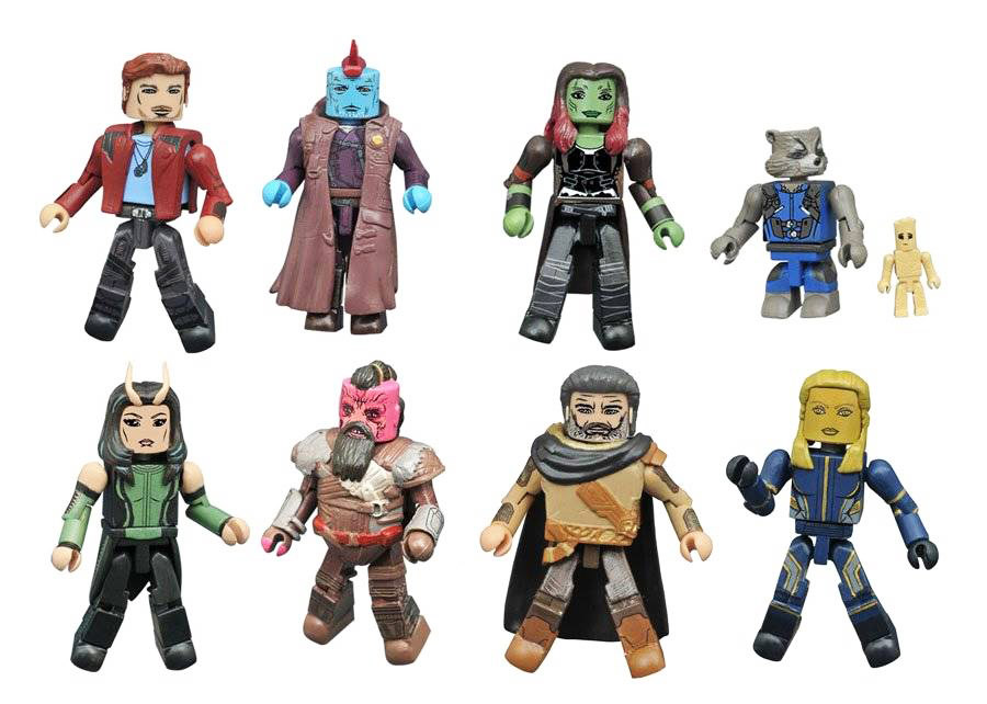 Marvel Minimates Series 71: Guardians of the Galaxy 2 Full Custom Case of 12