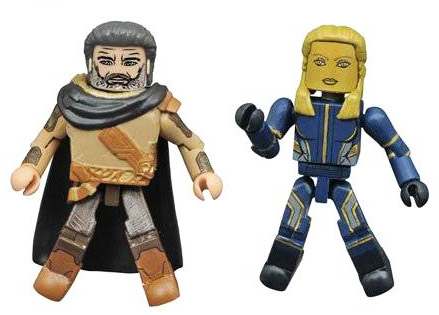 Ego & Ayesha Guardians of the Galaxy 2 Minimates