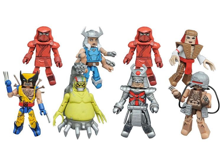 Marvel Minimates Series 72: Wolverine Full Set of 8