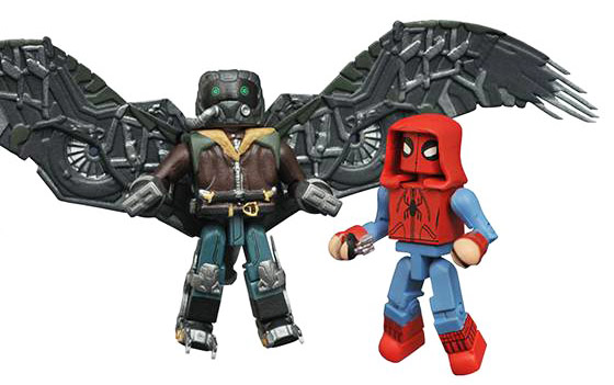 Homemade Suit Spider-Man & Vulture Minimates