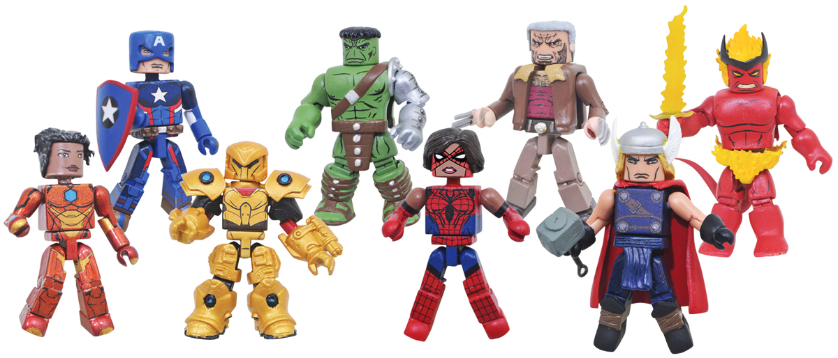 Marvel Minimates Series 74 Full Set of 8