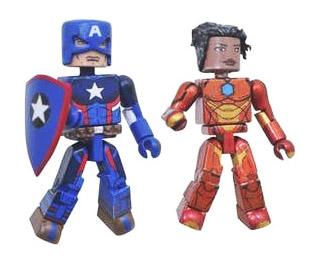Agent of Hydra Captain America VS Ironheart Minimates