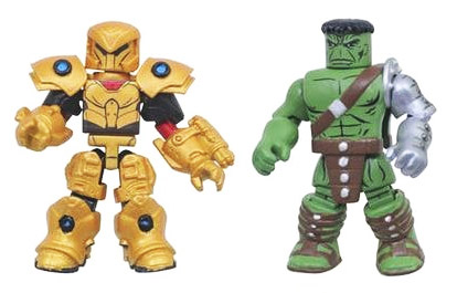 King Hulk VS The Red King Planet Hulk Minimates