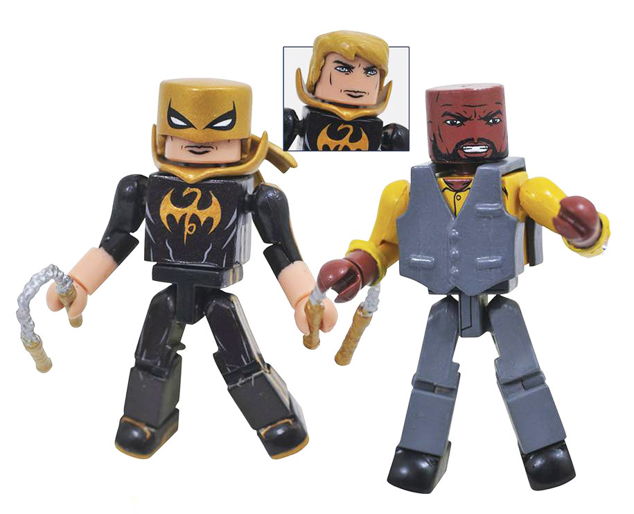 Marvel NOW Luke Cage & Iron Fist Minimates