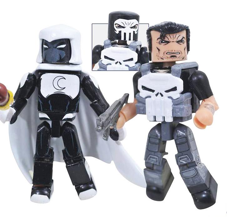 Punisher & Moon Knight Minimates